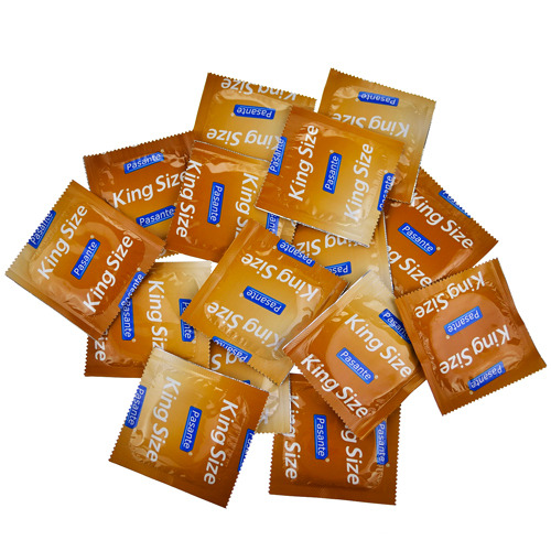 Pasante King Size Condom Saver Bundle 15 Pack