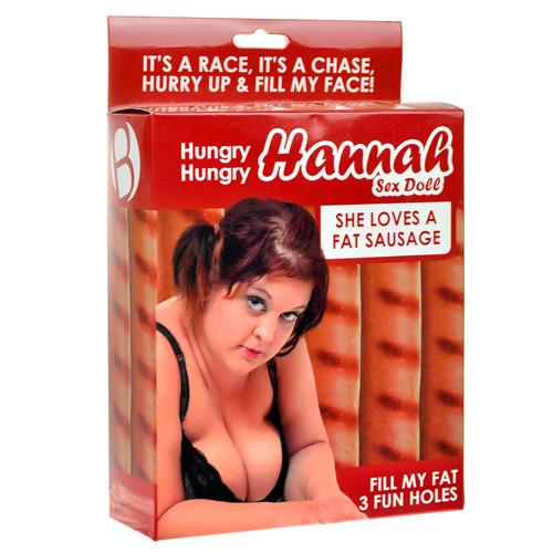 Hungry Hungry Hannah Blow Up Sex Doll - Bondara