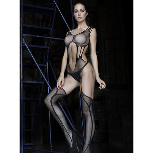 Enchanting Suspender Bodystocking