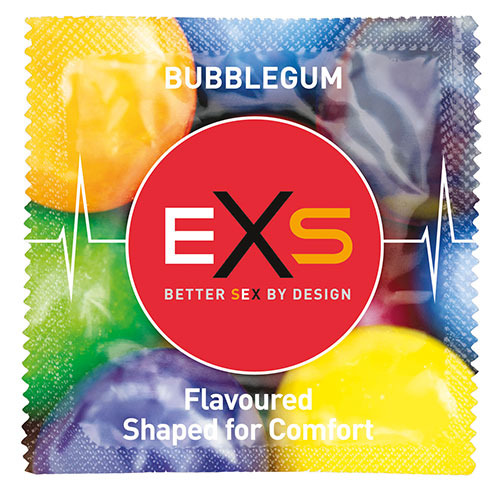 EXS Bubblegum Condoms Loose
