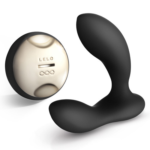 HUGO Black Prostate Massager with Remote