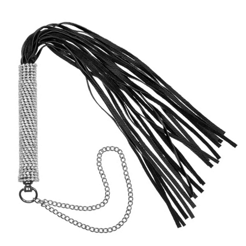 Diamante Encrusted Flogger Whip
