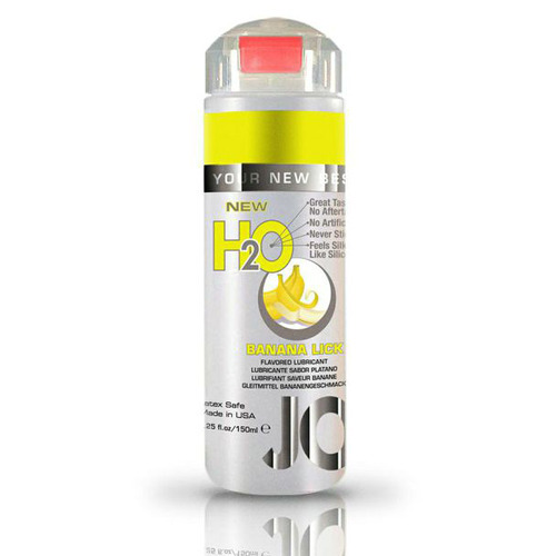 Jo H2O Waterbased Lubricant 150ml Banana