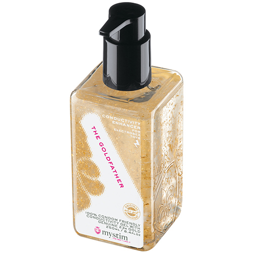 Mystim The Goldfather Electro Gel - 250ml - Bondara