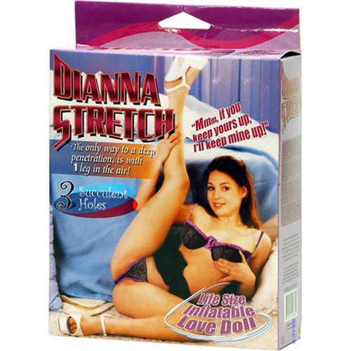 Dianna Stretch Blow Up Sex Doll - Bondara